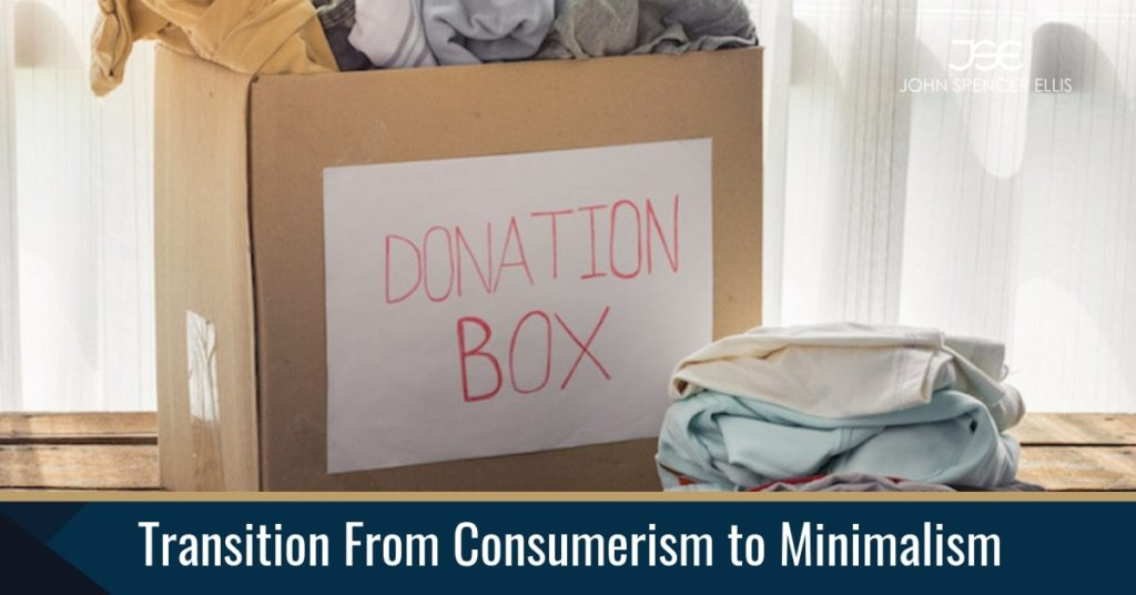 Transition from consumerist lifestyle to a minimalist one may look pretty difficult. However, with great effort, things might get turned around.