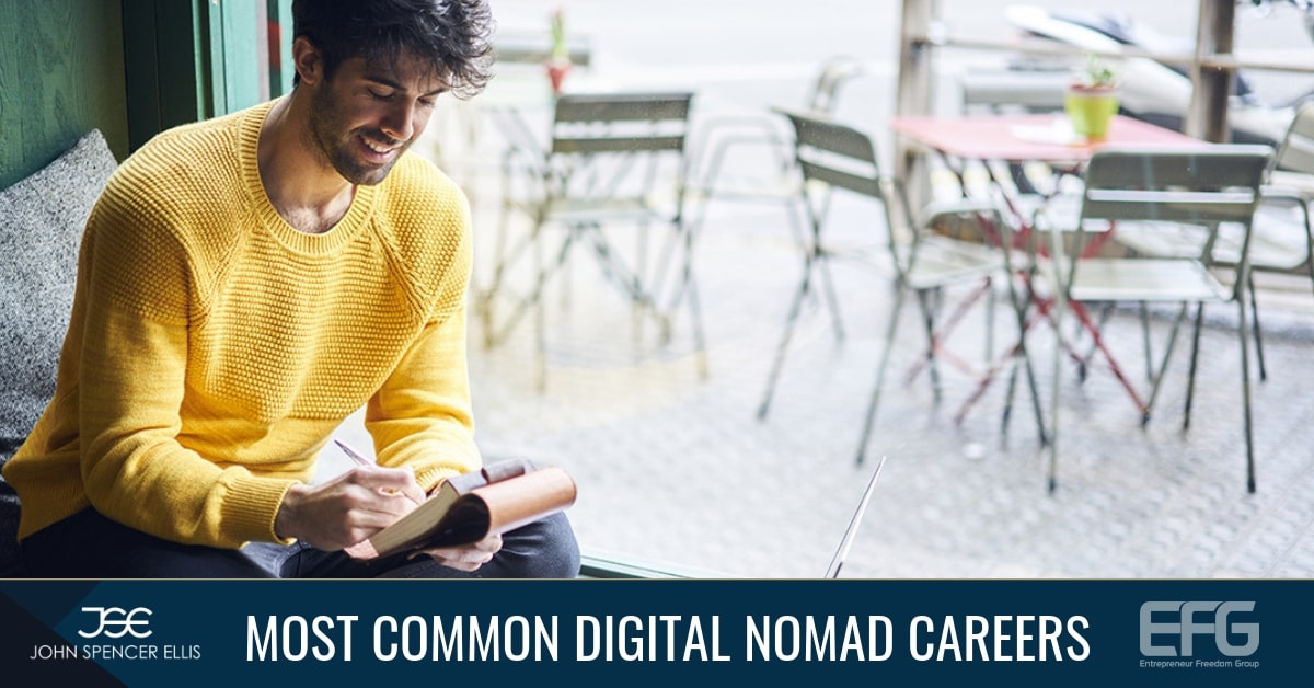 Most Common Digital Nomad Careers