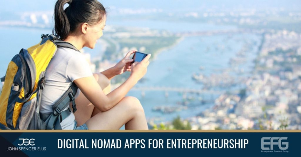 All digital nomads own a smartphone and the resources available to best save time and improve productivity and help the digital entrepreneur build their business in the right direction.