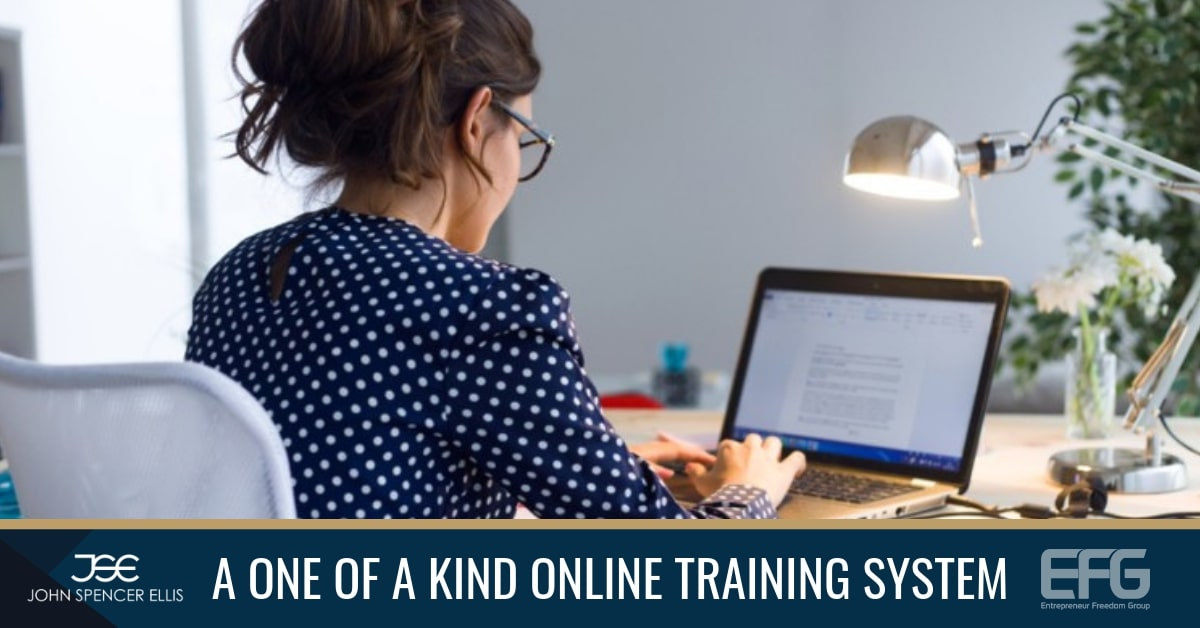 pnline training program to help digital nomads start an online business